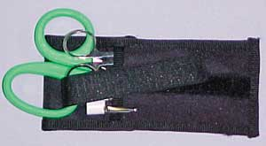 Junior Responder Holster Filled Black