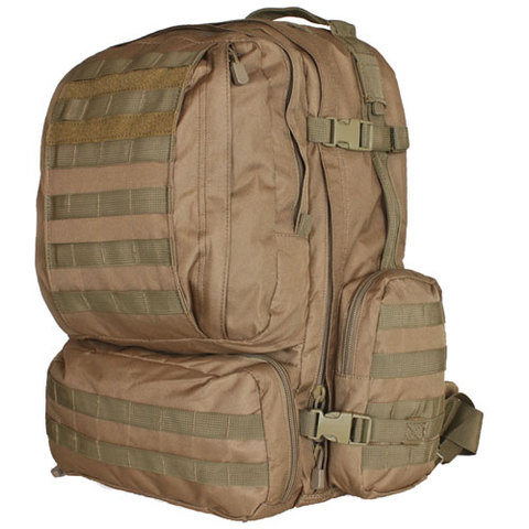 ADVANCED MOLLE 3-DAY COMBAT PACK FOX 1200D