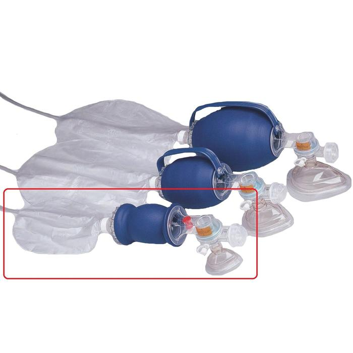 LIFE SUPPORT BAG VALVE MASK