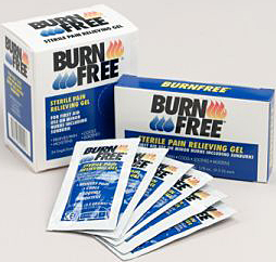 Burn Free Pain Relieving Gel Single Dose Packets  1 gram Bulk