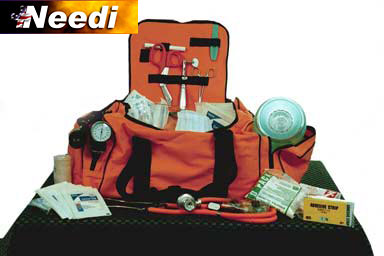 Large Trauma Emt Kit refill supplies/10 kit supplies