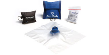 CPR mask with shield
